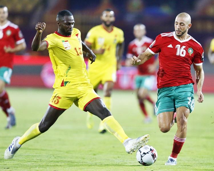 貝寧爆冷淘汰分組賽3戰全勝被視為捧盃熱門之一的摩洛哥。AP