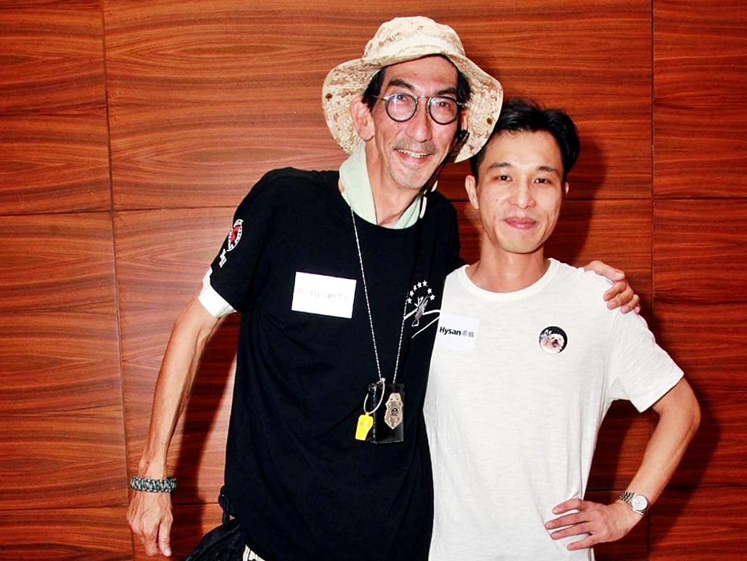 車保羅聯同導演兼編劇陳瀚恩出席見面會。