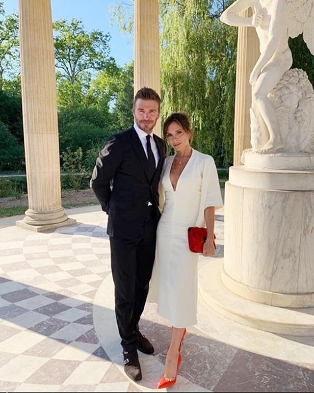 碧咸夫婦上周五遊凡爾塞宮慶祝結婚20周年。網圖