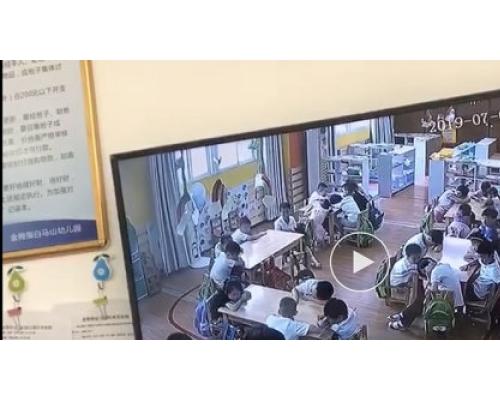 湖北幼稚園老師掌摑體罰學生  被行拘處罰責令解聘