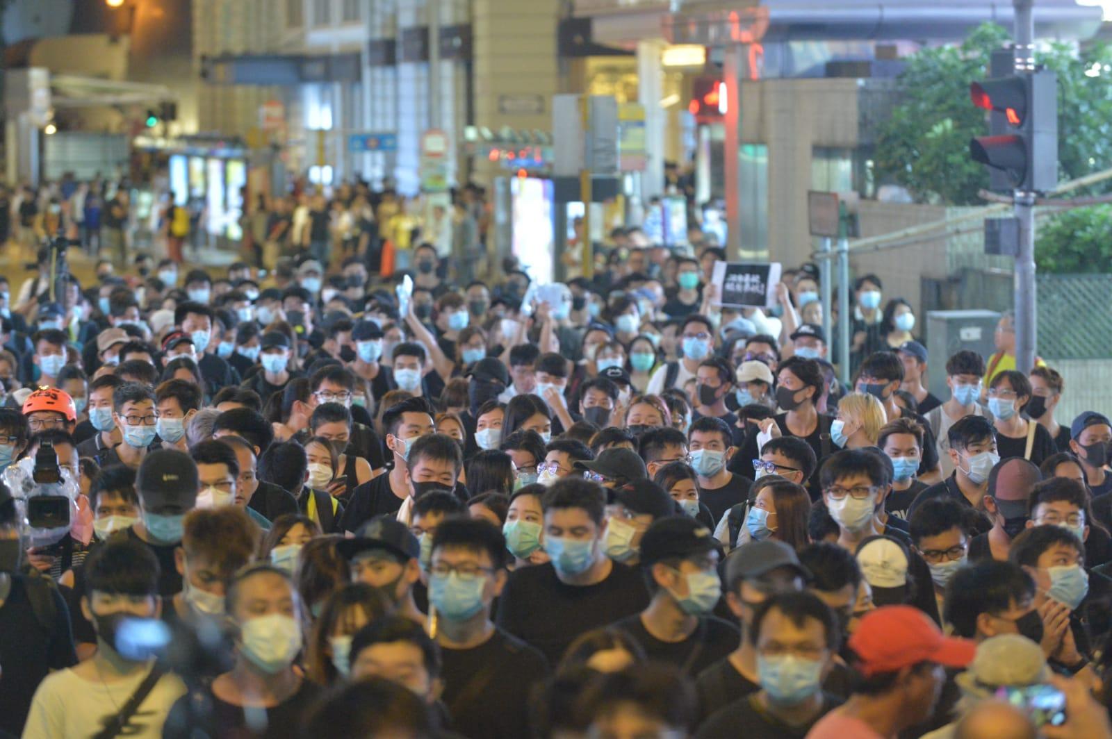 今日九龍大遊行是7月第3場大型社會運動。