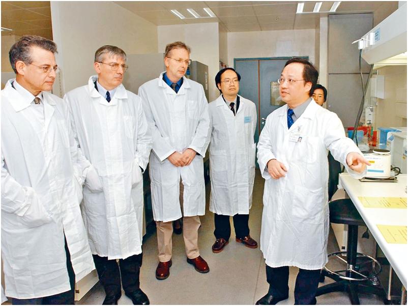 石硤尾衞生署公共衞生檢測中心,啟用至今近十七年 。資料圖片