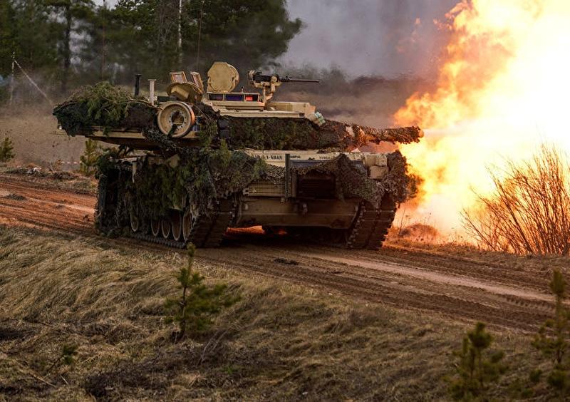 美國國務院不理北京反對,批准對台出售約22億美元軍備,包括108輛M1A2艾布蘭主戰坦克,並已知會國會。(網圖)