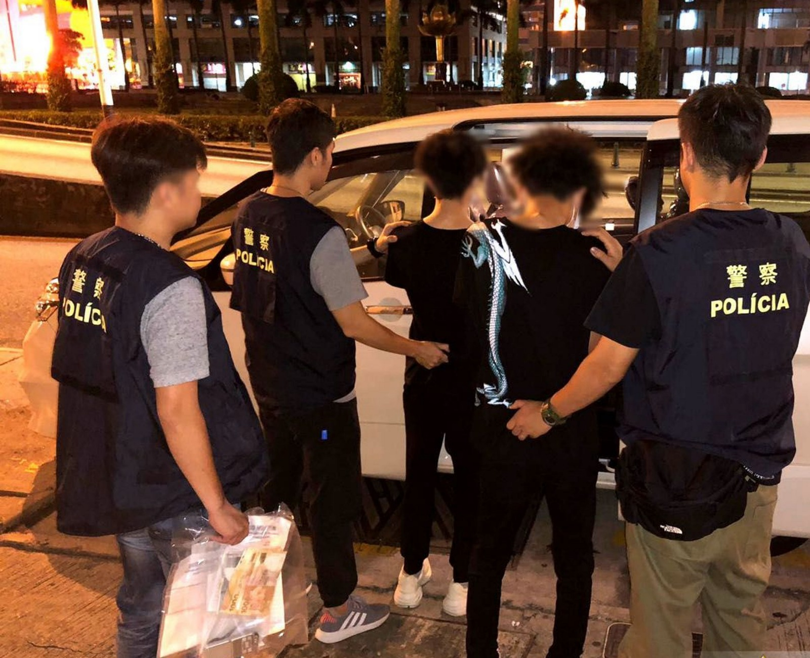 2名香港青年在澳門涉嫌販毒被捕。