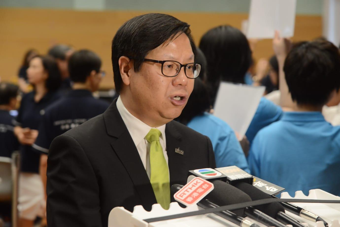 VTC副執行幹事梁任城。