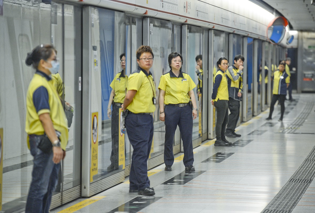 港鐵所有員工有0.3個月特別獎金。資料圖片