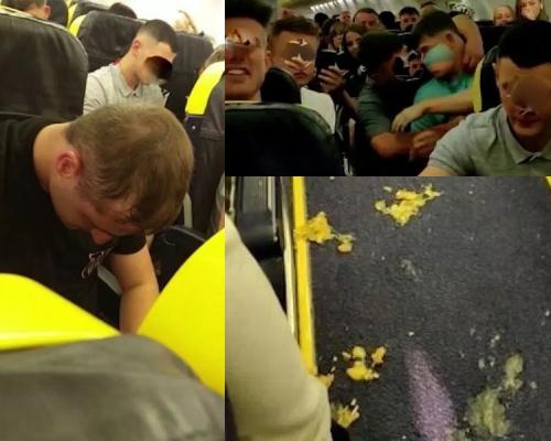 地獄航班 70醉客飛機上大吼大叫嘔吐3小時
