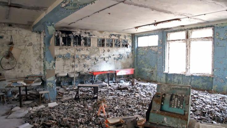 核事故遺址。網上圖片