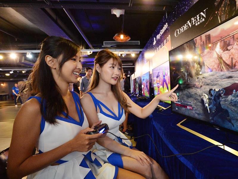 6個主題展區,可體驗多款遊戲新作、試玩VR遊戲及與遊戲角色拍照。
