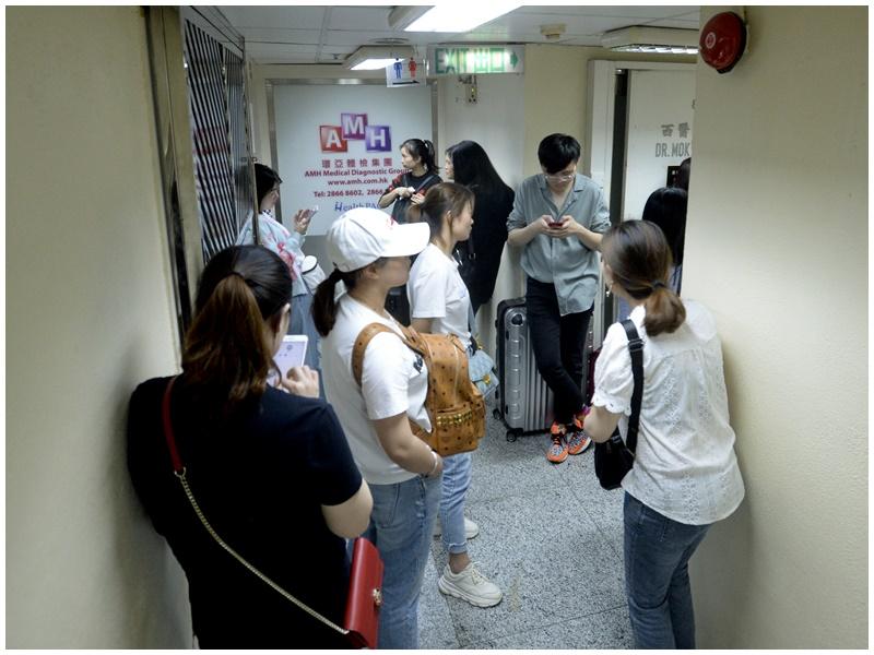 佐敦嘉賓商業大廈的「環亞體檢集團」5月亦爆出水貨九價HPV疫苗風波。資料圖片