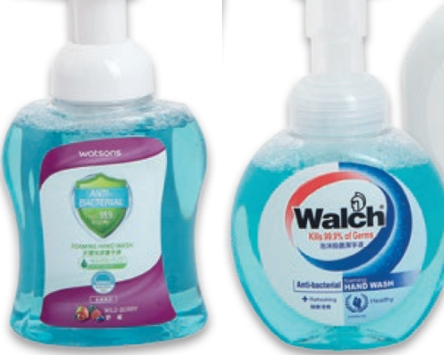 消委會:八款洗手液聲稱殺滅99%細菌 僅屈臣氏、威露士達標