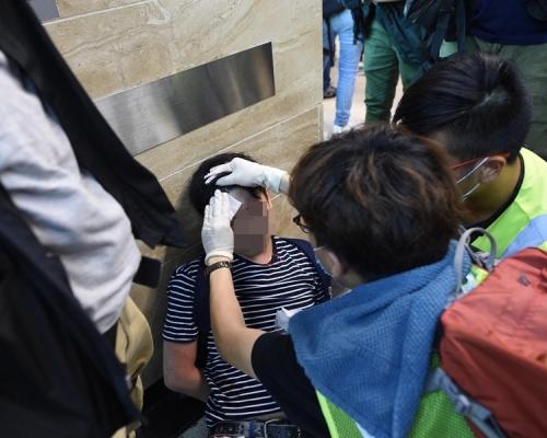 【逃犯條例】沙田衝突至少28傷 兩人一度危殆其中一人轉嚴重