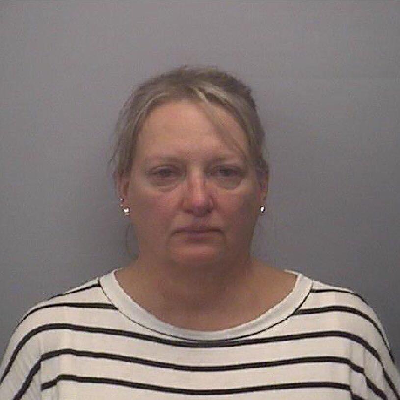 美国49岁夸张妈被捕。网上图片