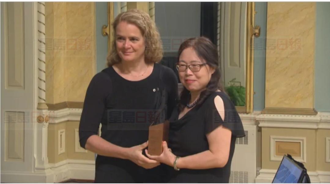 華裔學者邱香果(Xiangguo Qiu)博士獲得加拿大總督創新研究獎。網上圖片