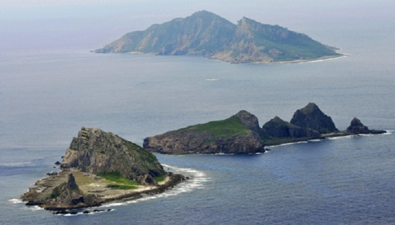 4艘中國船隻一度駛入釣魚島附近的日本領海。AP資料圖片