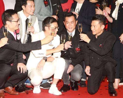 《掃毒2》內地票房破10億 華仔考慮開續集三哥唔收片酬都肯拍