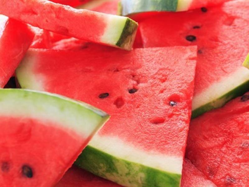 西瓜消暑惟糖分高。網上圖片