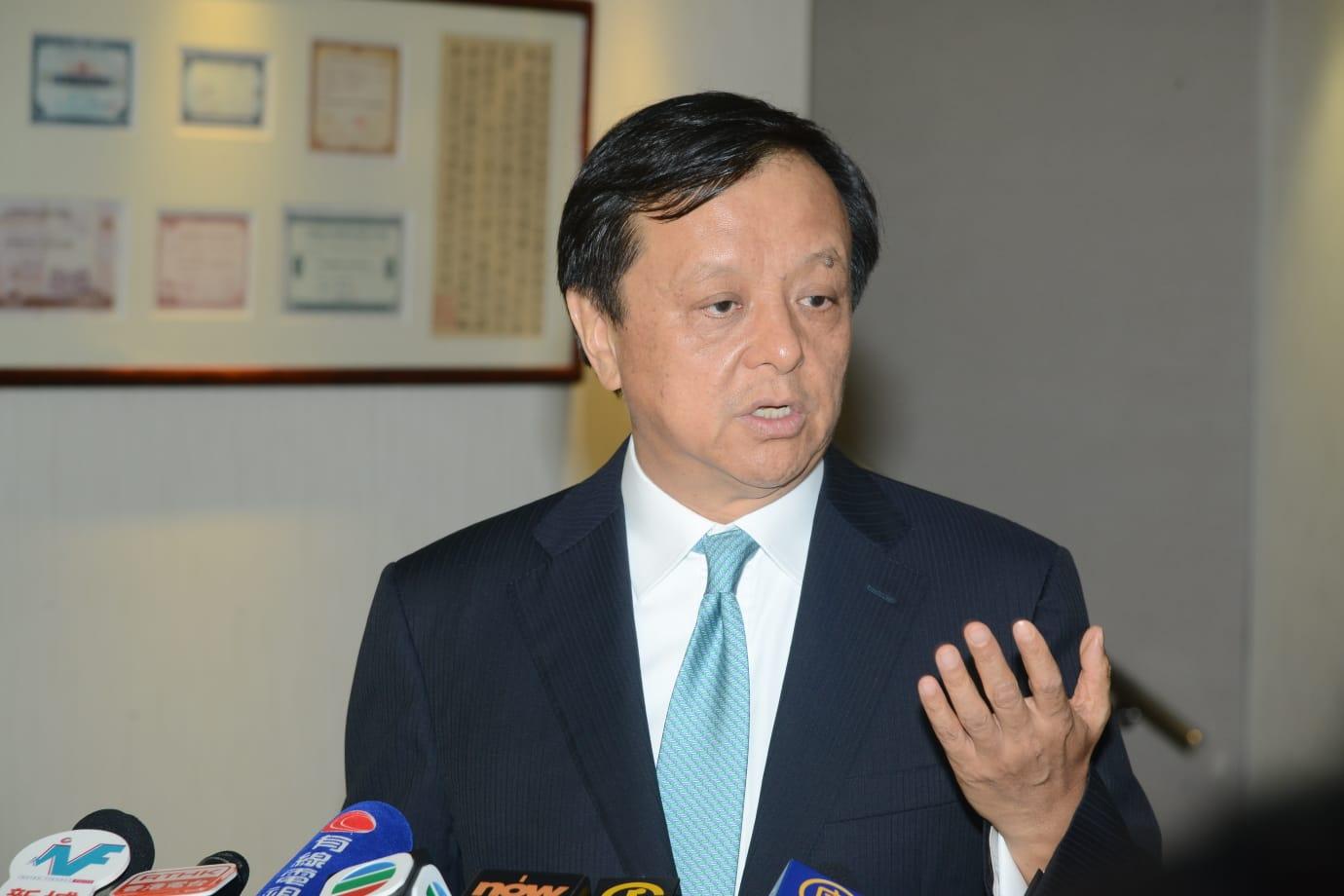 香港交易所主席李小加。