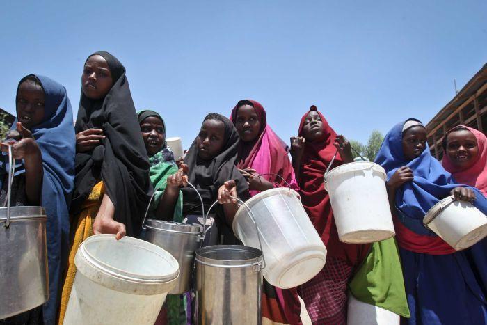全球糧食不均問題繼續惡化。AP圖片