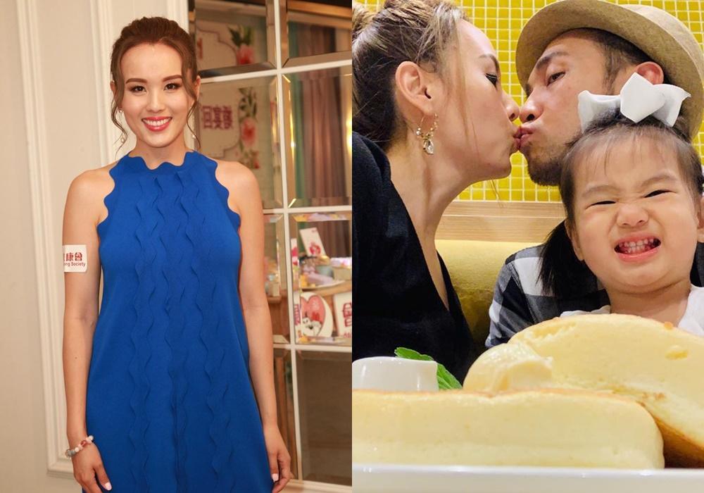 楊洛婷同老公結婚5年仍然恩愛,也想給囡囡添弟妹。