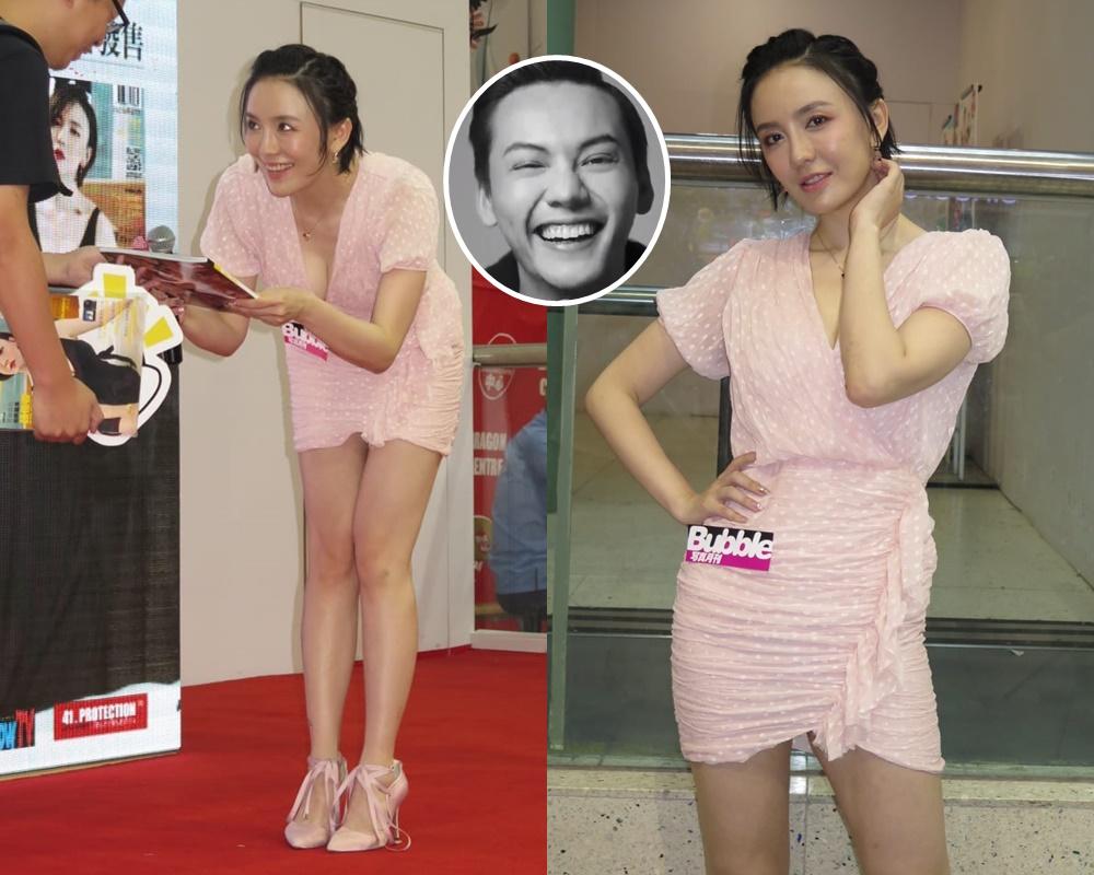 呂佳容話同陳偉霆傳緋聞是fans幻想出來。