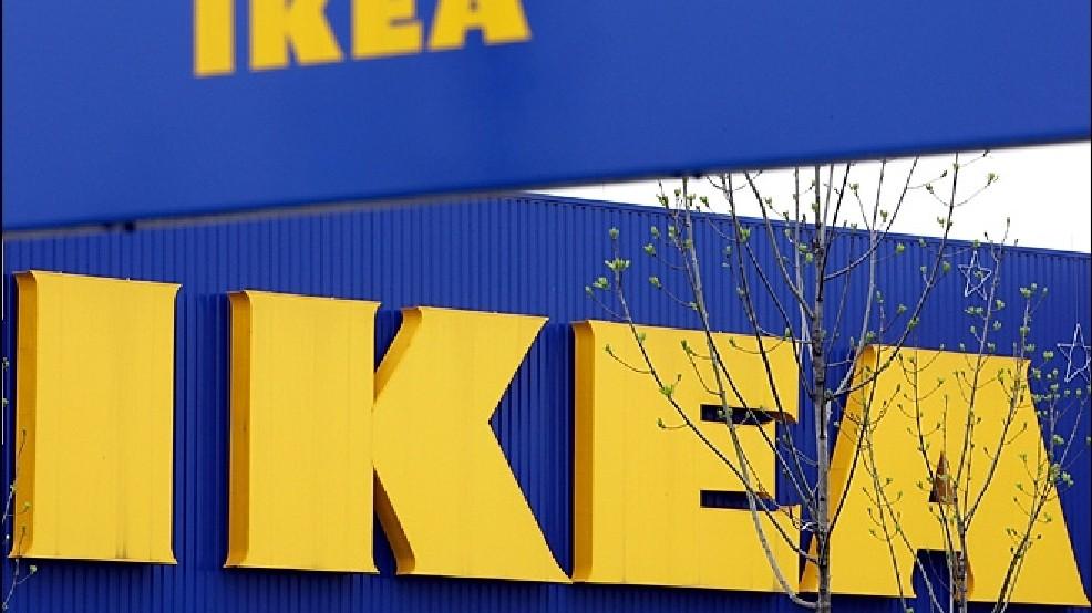 美國IKEA。AP圖片
