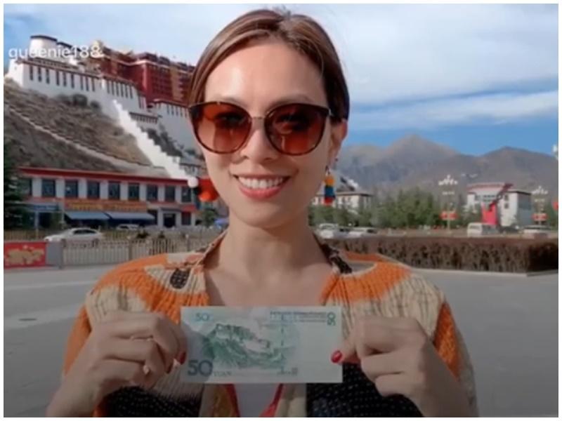 慧敏直認愛人民幣。IG
