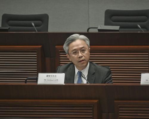 【逃犯條例】羅智光:違法和暴力行為破壞法治精神需受譴責