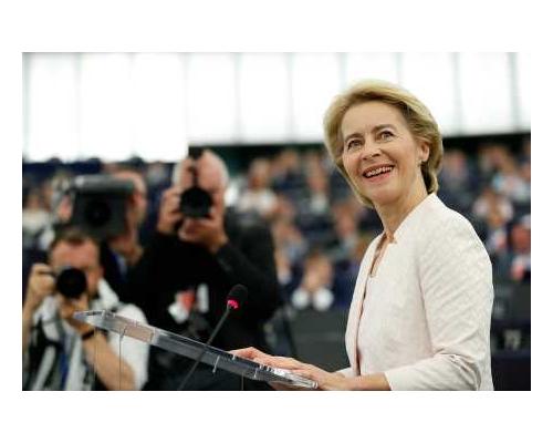 德國防部長范德賴恩   成歐盟執委會首位女主席