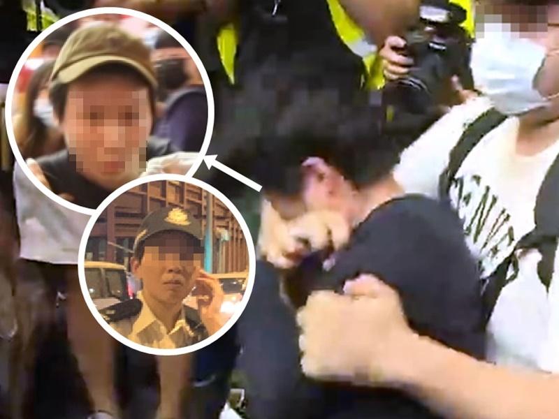 警方指相片中的警務人員為一名駐守港島區的女督察,並非案件中的女受害人。