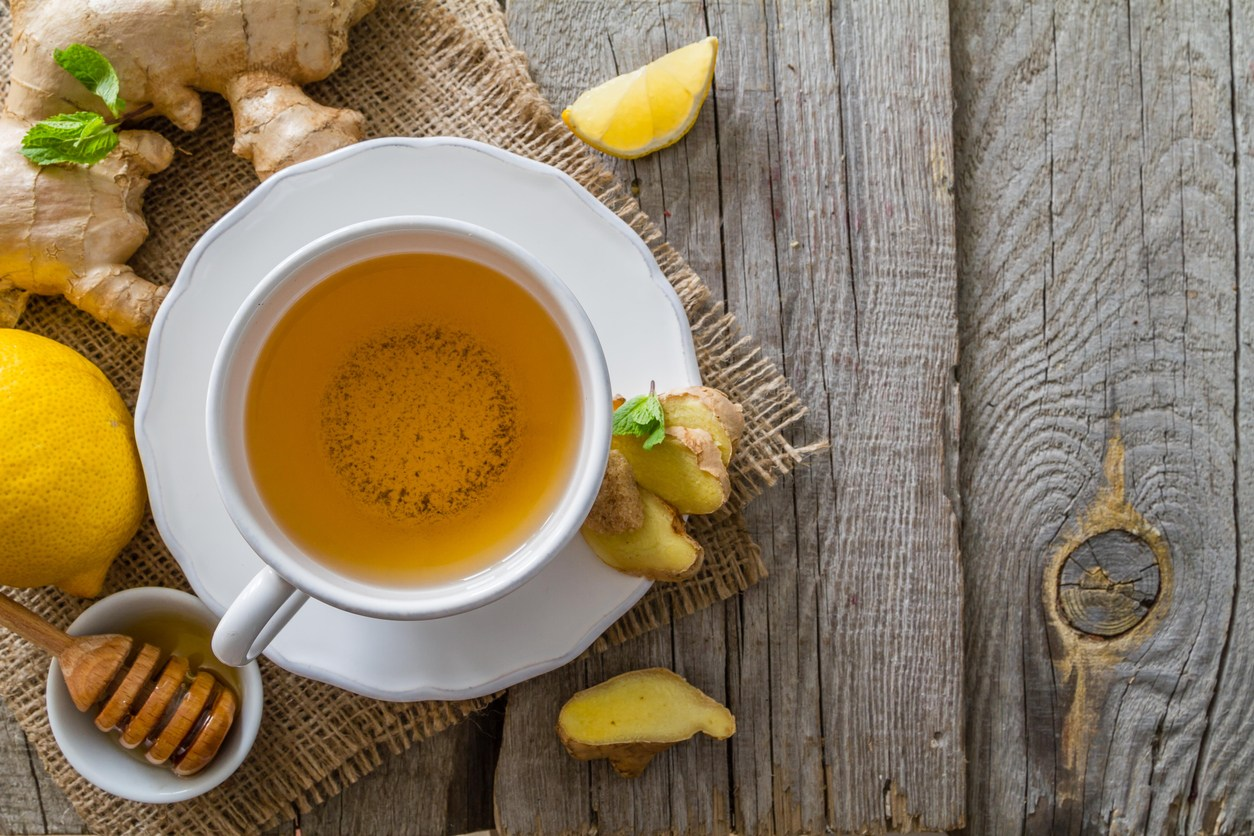 蜂蜜檸檬水。網圖