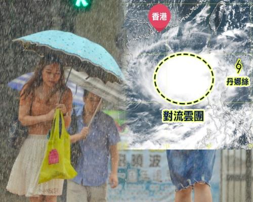 【風暴分裂】南海熱帶氣旋形成中 天文台:會否影響香港存變數