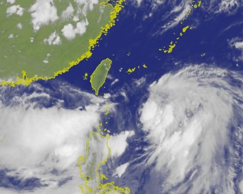風暴「丹娜絲」逼近台灣航班受阻 蘭嶼綠島停工停課