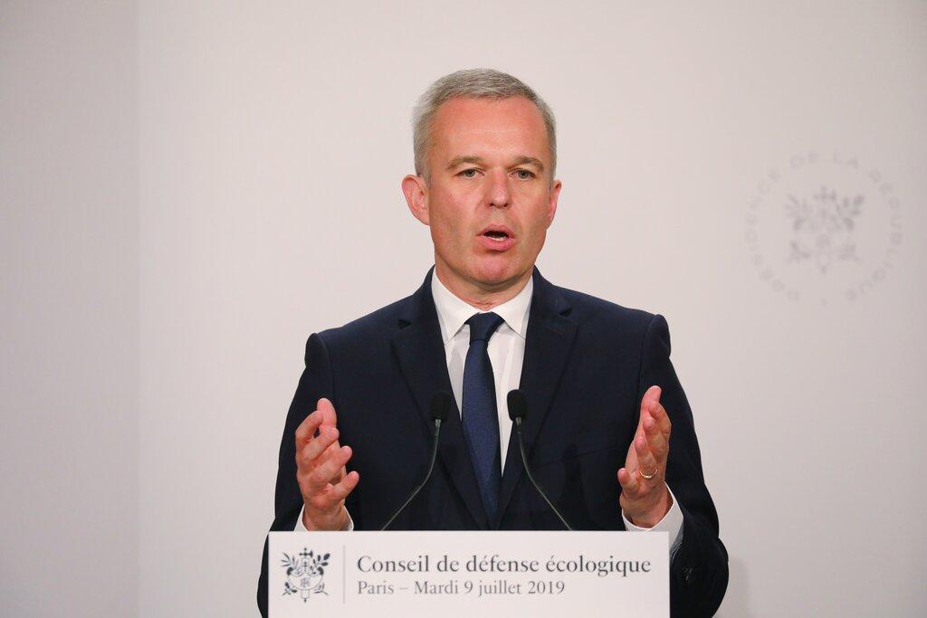 法国能源及生态部长鲁吉(Francois de Rugy)。图片