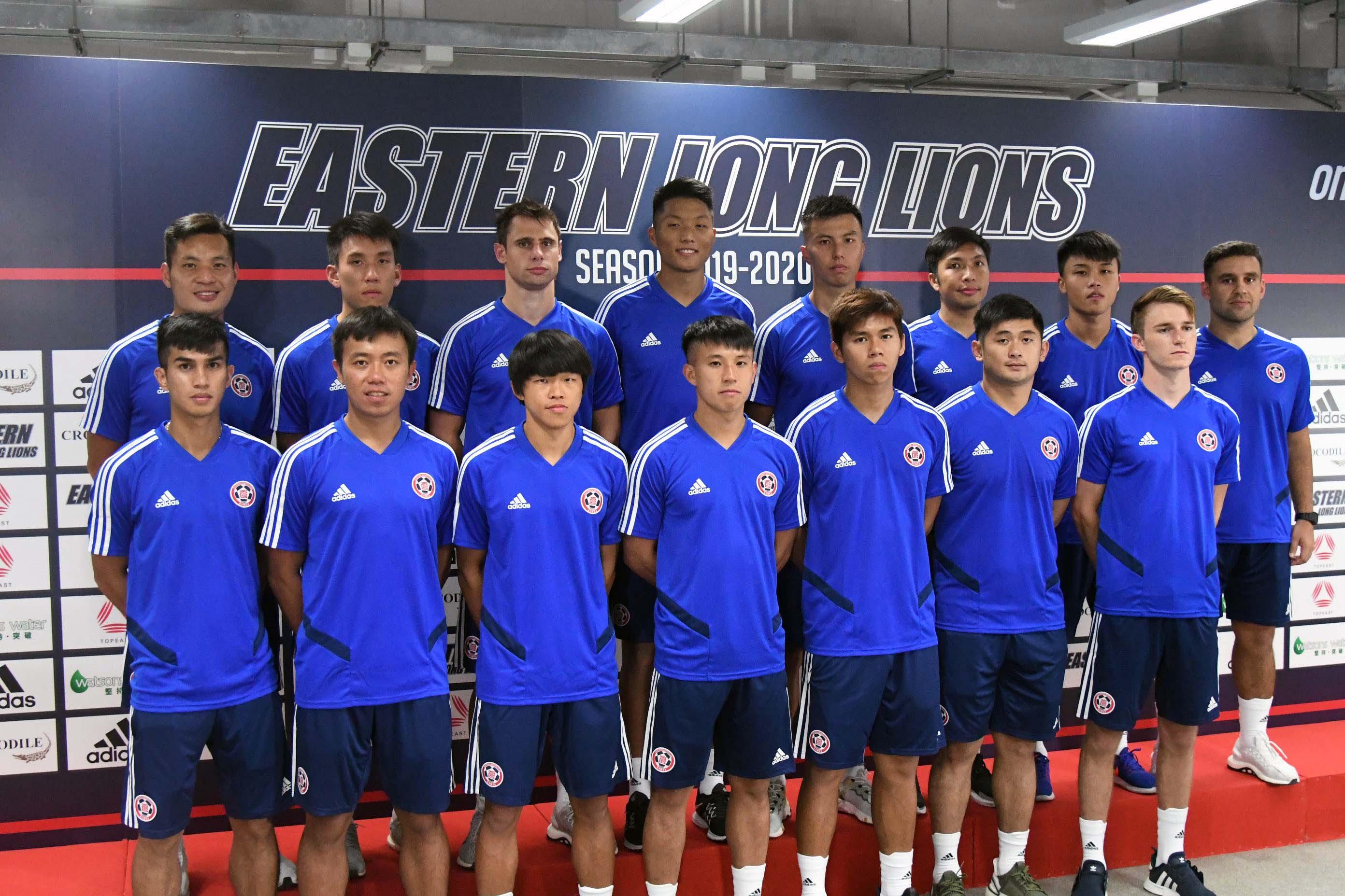 東方今季有十六名新球員加盟。郭晉朗攝
