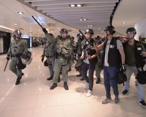 【沙田衝突】稱新城市廣場職員當日指示警察離開 新地:會向警方表達關注