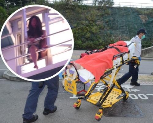 疑男友出軌育17歲仔 安泰邨38歲女企跳獲救