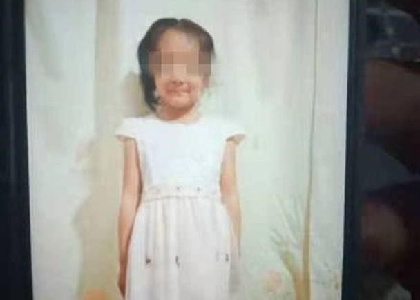6歲李鈺彤被涉案男童用木板打死。微博圖片