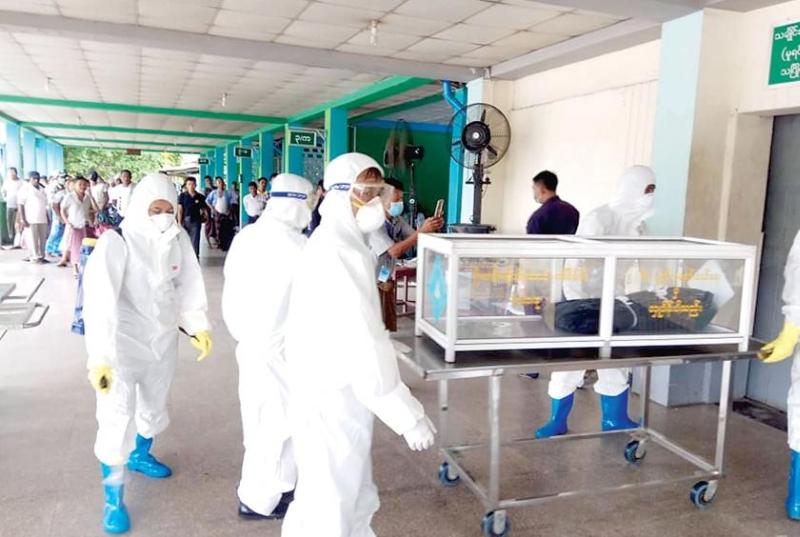 緬甸爆發H1N1甲型流感疫情。(資料圖片)