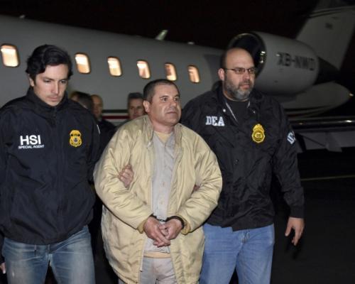 墨西哥大毒梟古斯曼在美國被判終身監禁