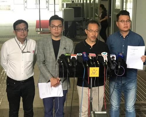【逃犯條例】張超雄提私人草案 倡容許單次移交逃犯處理台灣殺人案