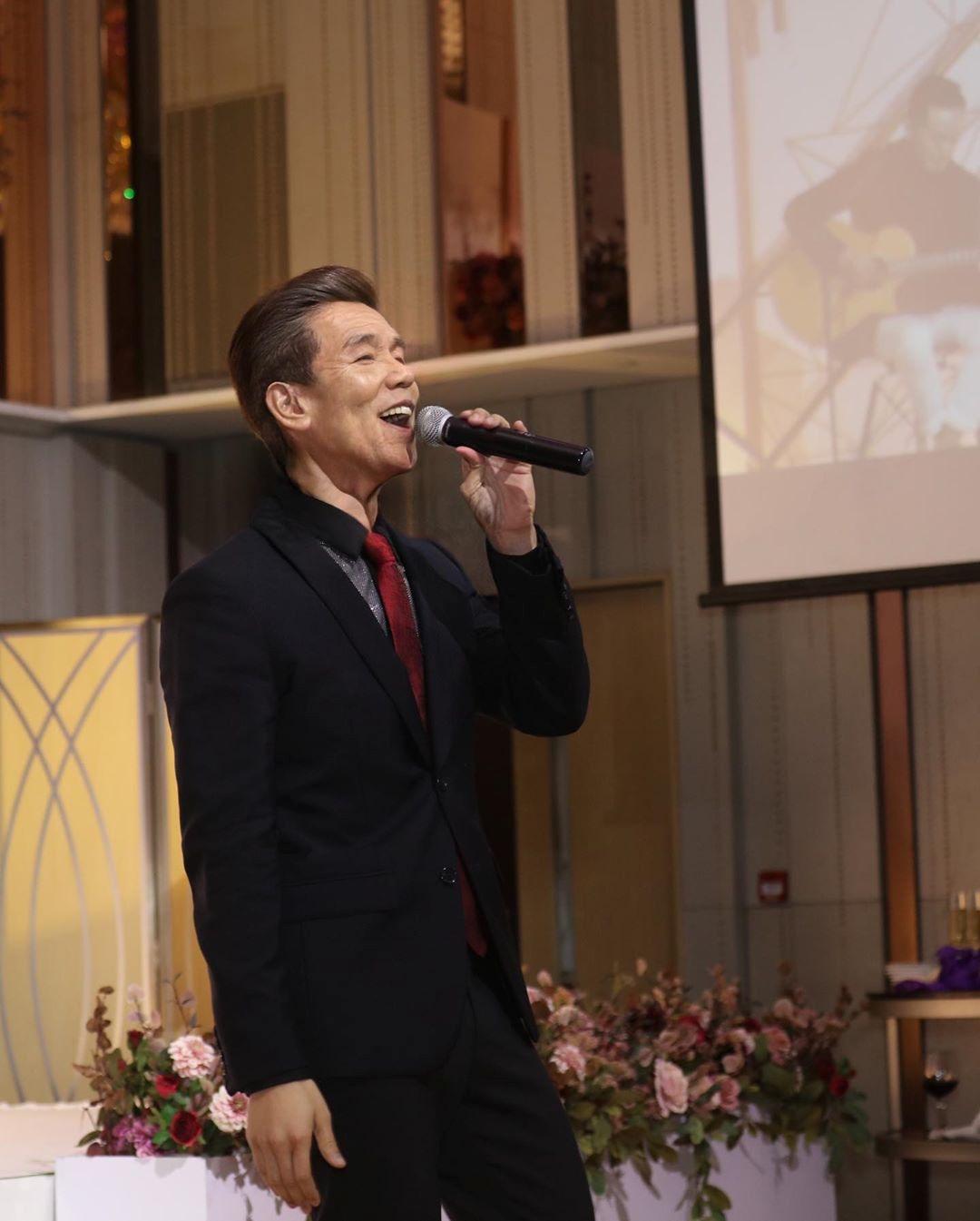 林奕匡說,希望將來老了也可繼續唱歌為大家表演。 林奕匡IG圖