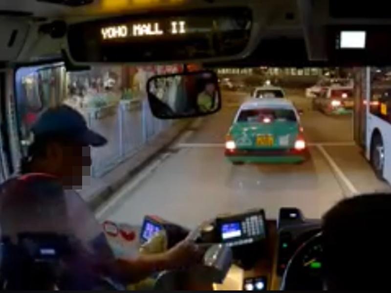 男子最後付回車費。網民Ken Chan影片截圖