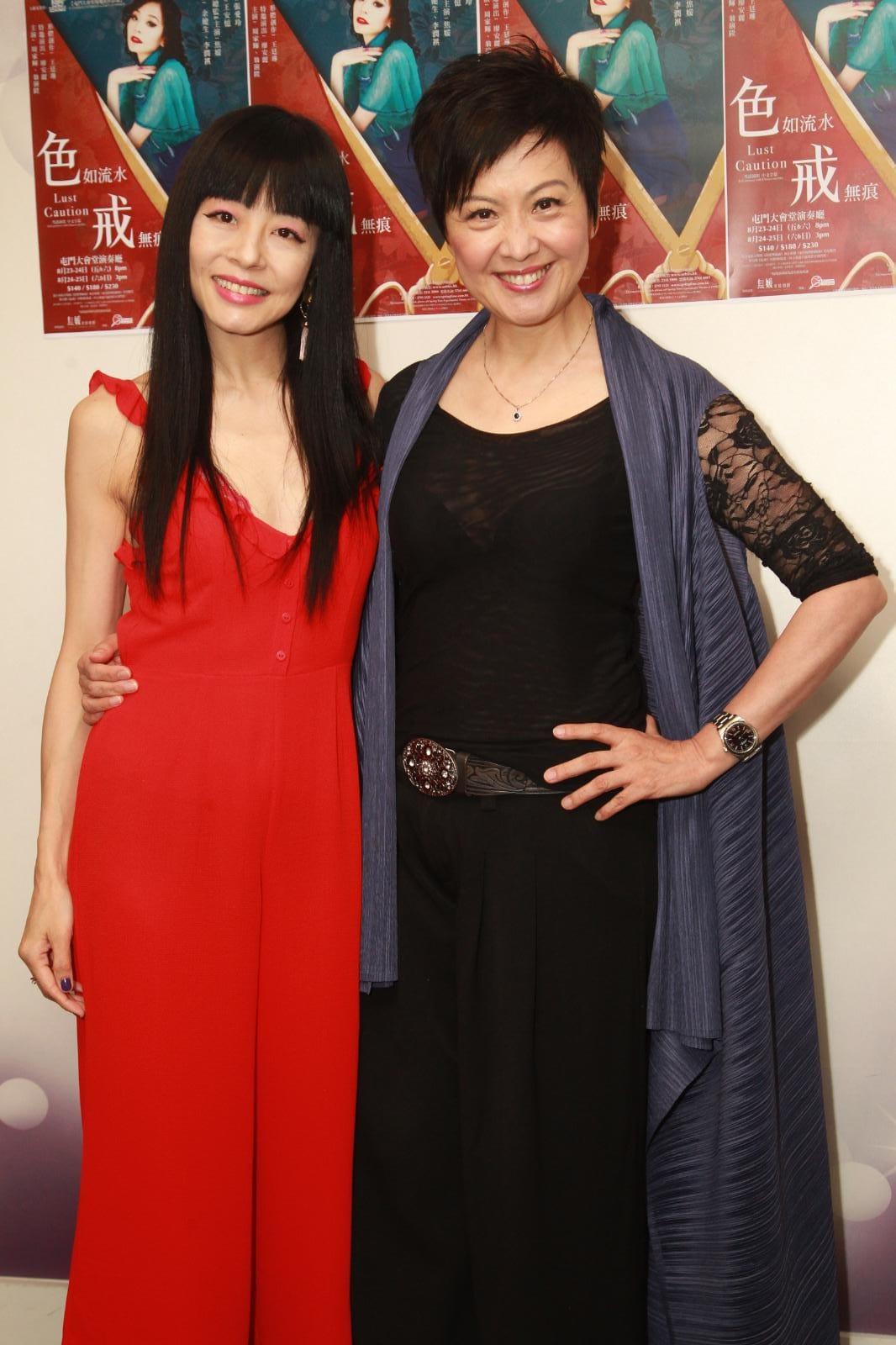 焦媛(左)和廖安麗(Annie)(右)。
