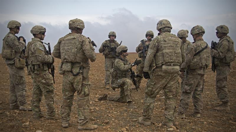 美國向中東增派軍人。AP圖片