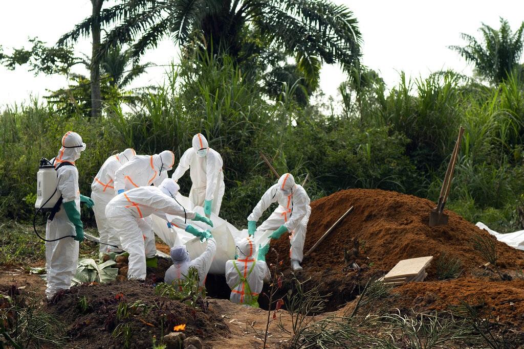 剛果伊波拉疫情有超過2500人感染,三分之二患者已經死亡。AP圖片