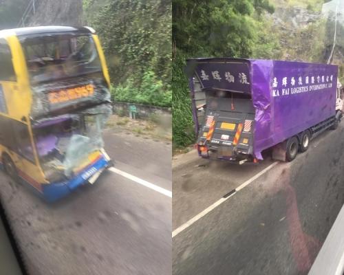 青朗公路城巴司機撞車亡 工會批運輸署漠視車身設計問題