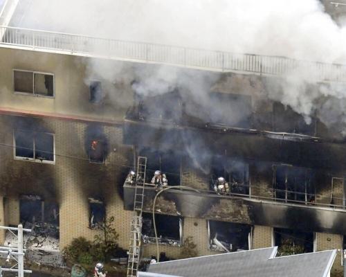 京都動畫公司縱火案增至33人死 疑犯被捕怒斥「抄襲」