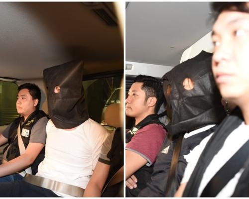 【逃犯條例】上月示威者包圍警總 兩男子涉刑毁襲警被捕