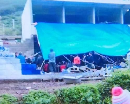 雲南網紅直播母親喪禮期間 雨棚倒塌20人傷